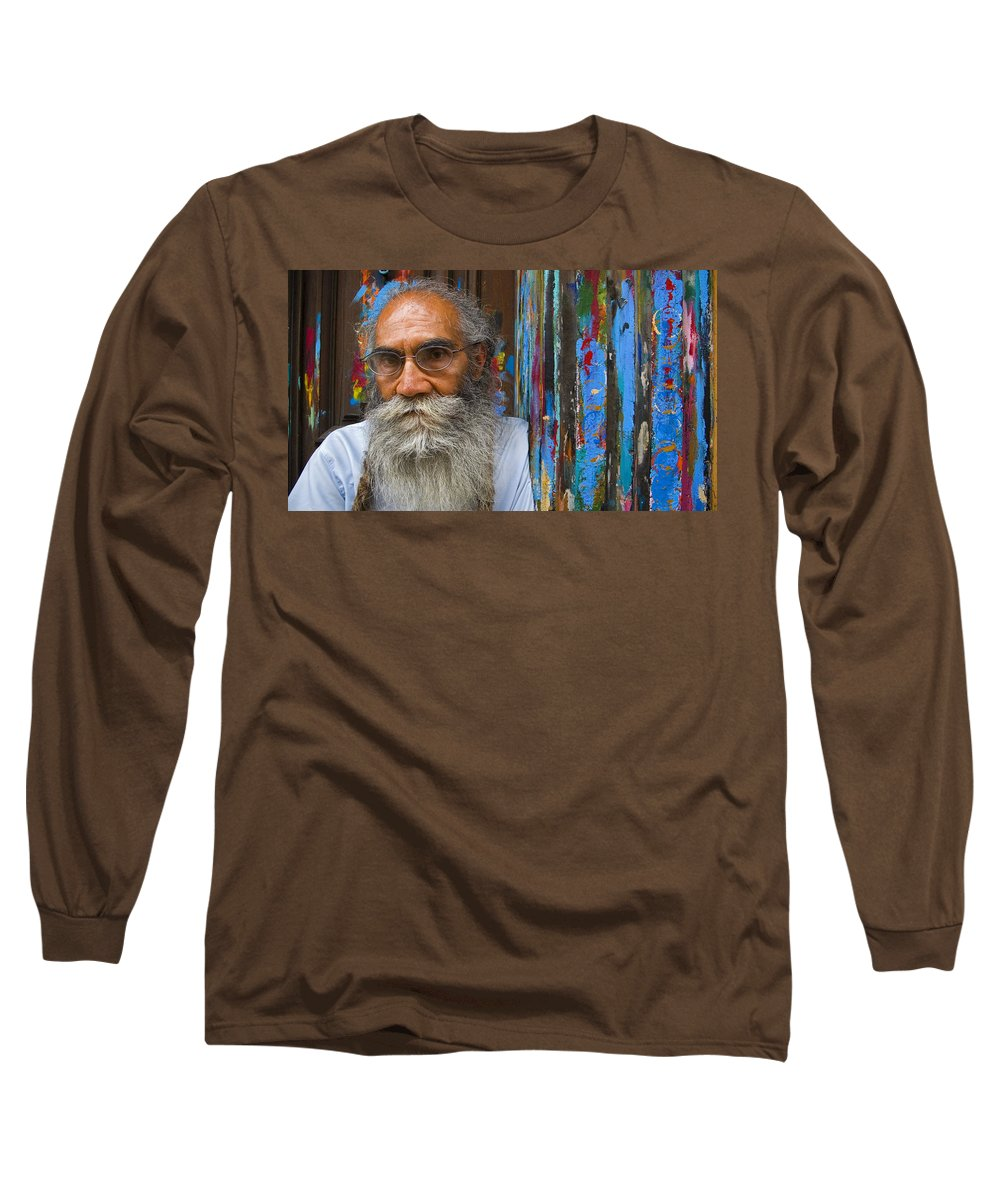 Architecture Long Sleeve T-Shirt featuring the photograph Orizaba Painter by Skip Hunt