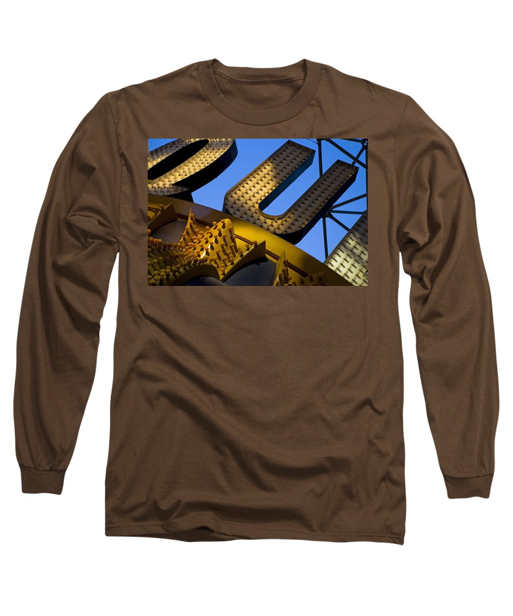 Architecture Long Sleeve T-Shirt featuring the photograph Queen Of Hearts by Skip Hunt