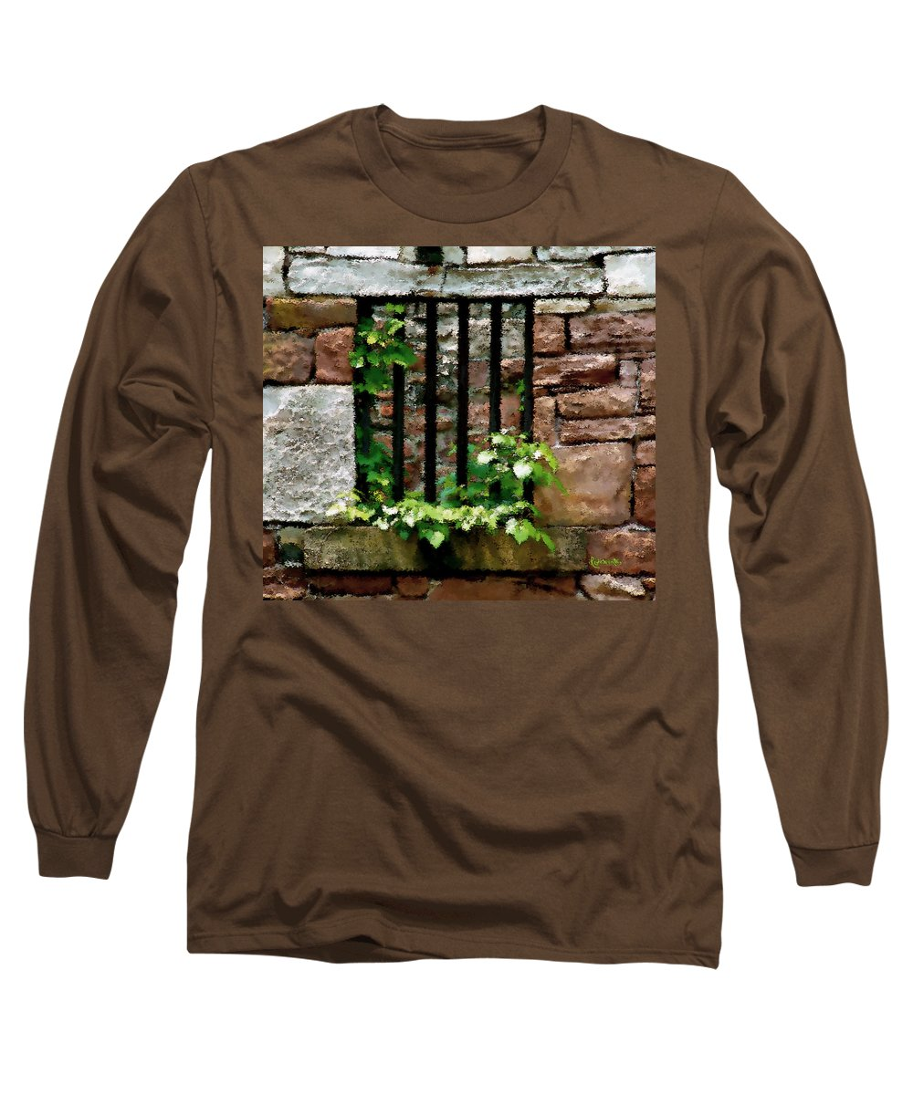 American History Long Sleeve T-Shirt featuring the digital art Rhus Radicans Triumphant by RC DeWinter
