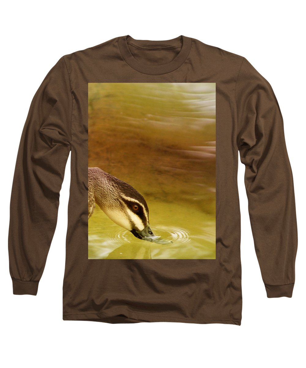 Animals Long Sleeve T-Shirt featuring the photograph Ripples by Holly Kempe