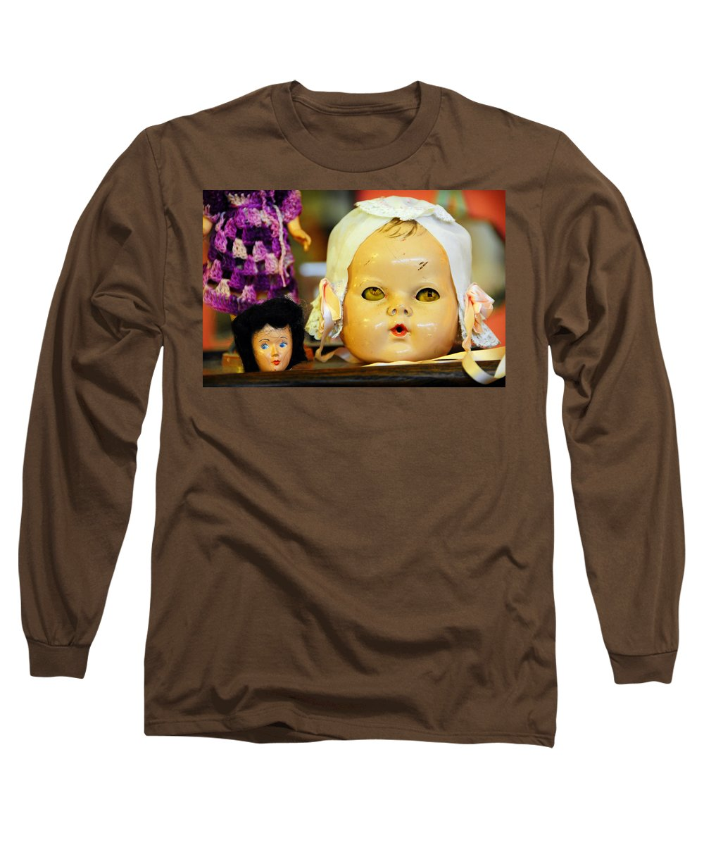 Antique Long Sleeve T-Shirt featuring the photograph Rumormongers by Skip Hunt