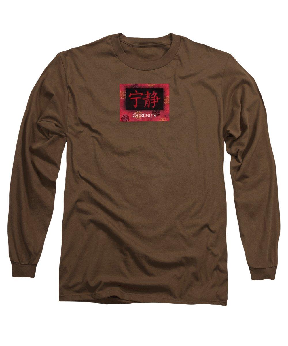Oriental Long Sleeve T-Shirts