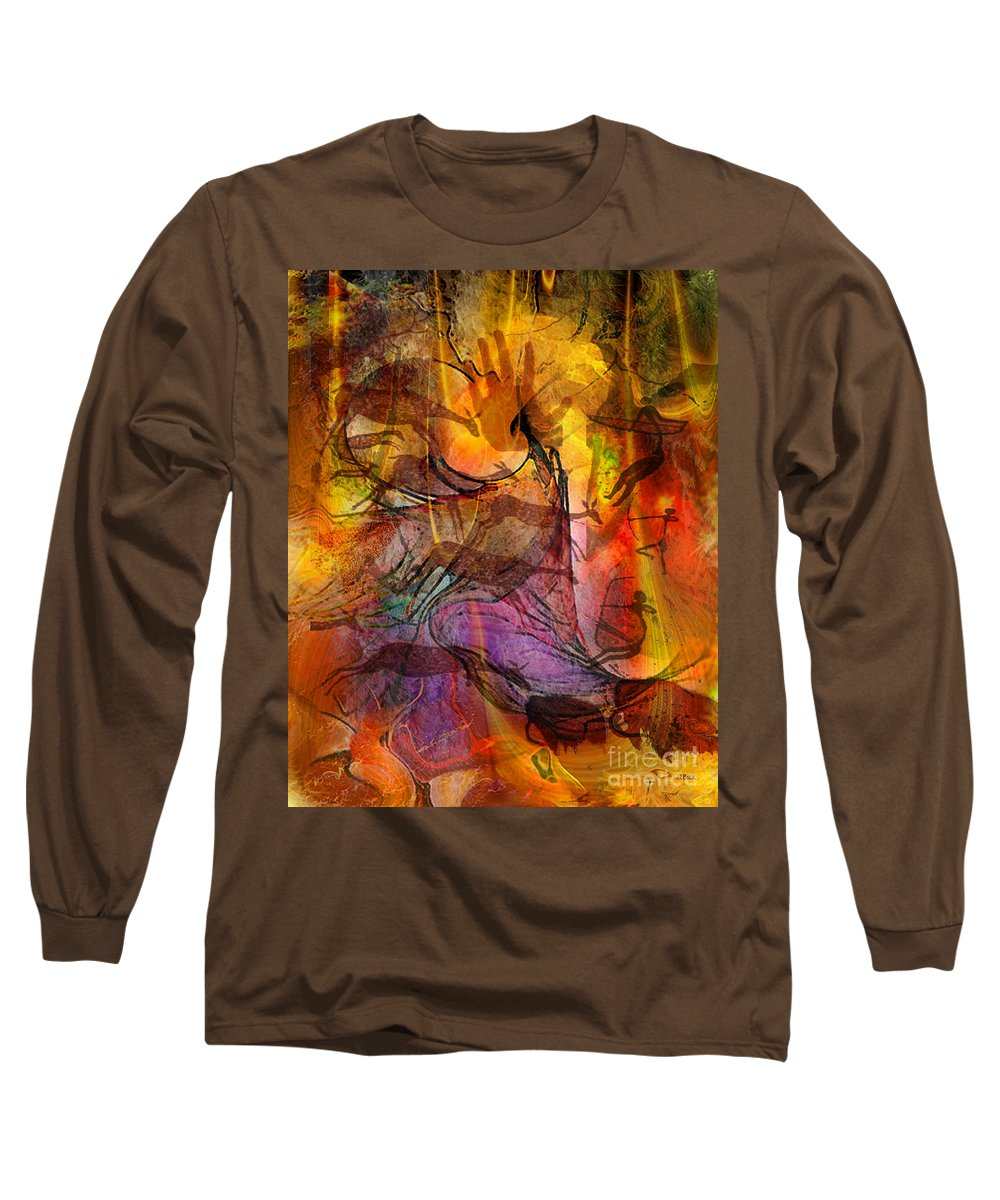 Shadow Hunters Long Sleeve T-Shirt featuring the digital art Shadow Hunters by John Beck