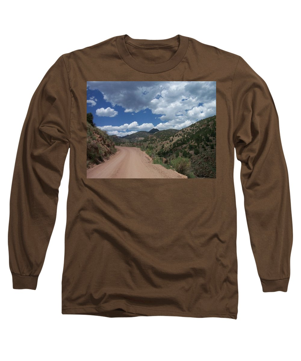 Shelf Road Long Sleeve T-Shirt featuring the photograph Shelf Road by Anita Burgermeister