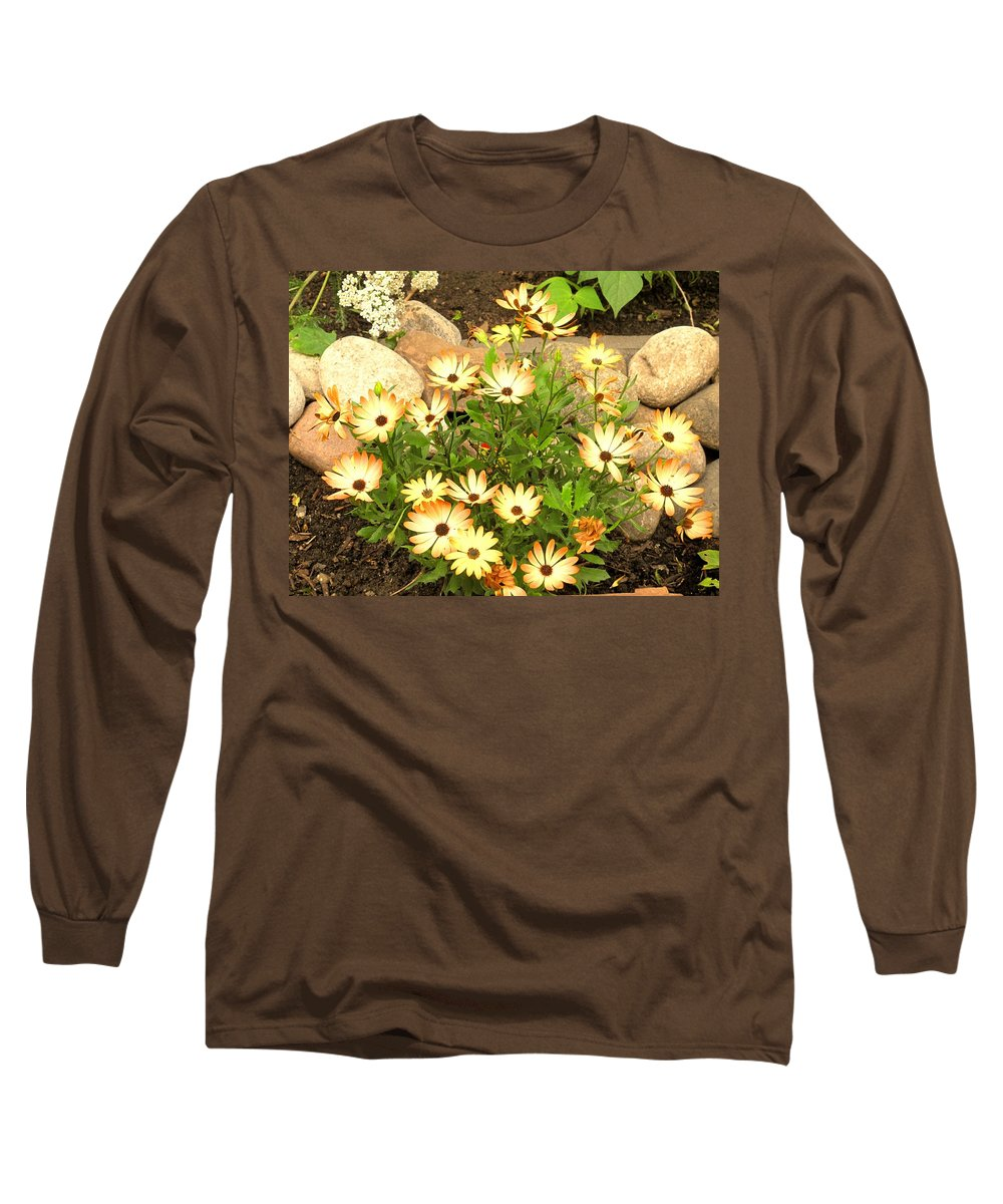 Flowers Long Sleeve T-Shirt featuring the photograph Soft by Ian MacDonald
