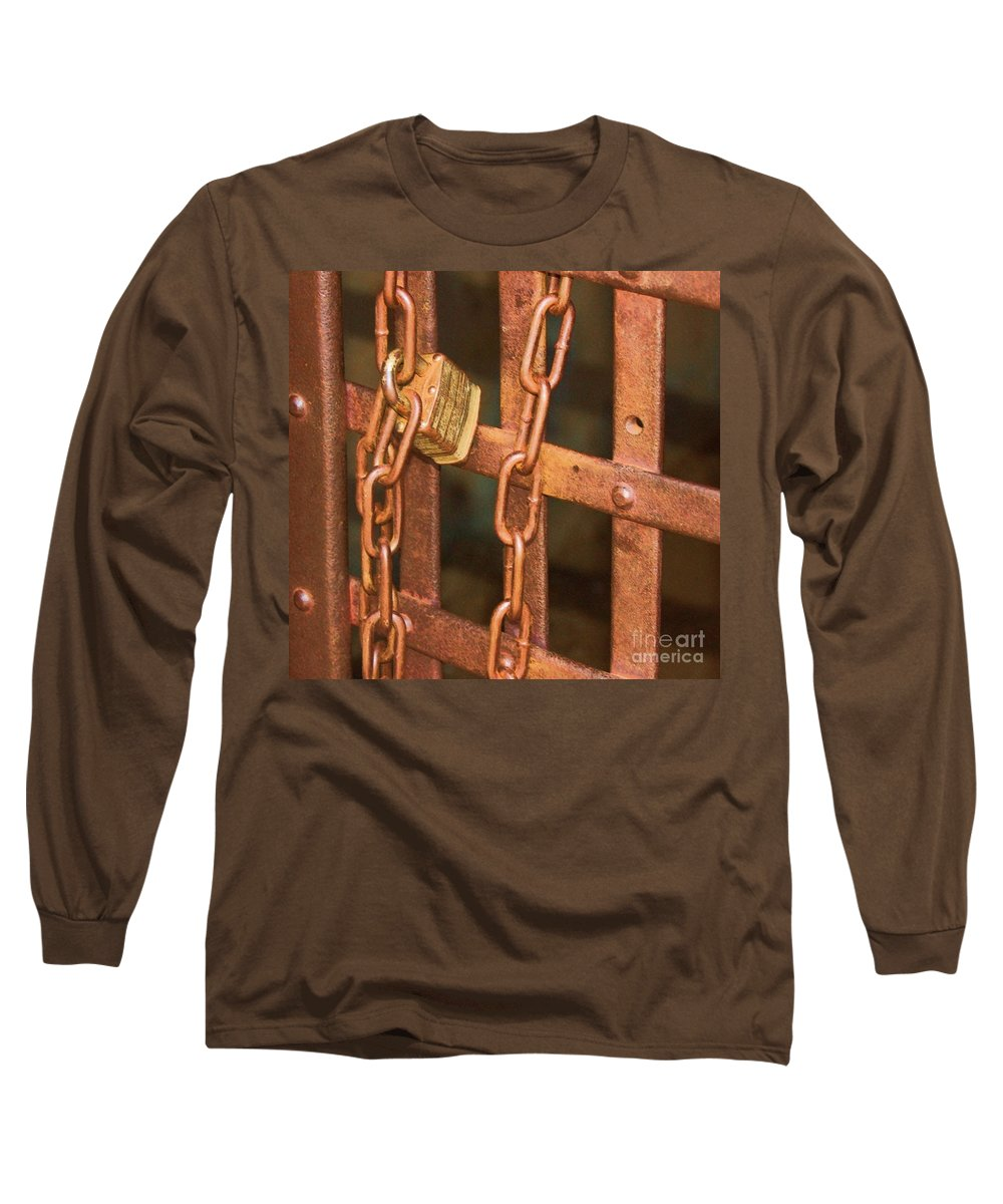 Metal Long Sleeve T-Shirt featuring the photograph Tarnished Image by Debbi Granruth