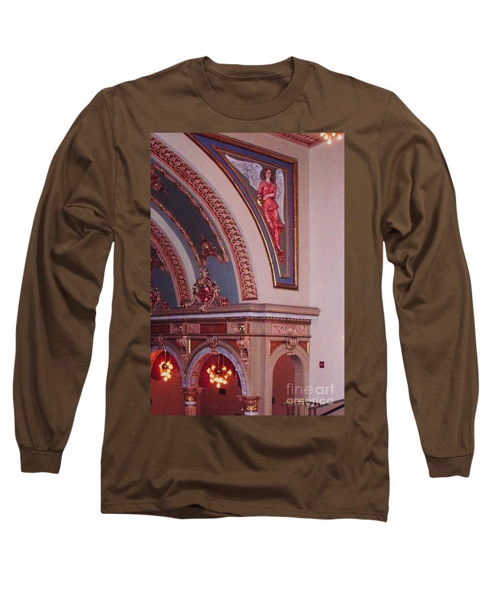 Theater Long Sleeve T-Shirt featuring the photograph Theater by Eric Schiabor