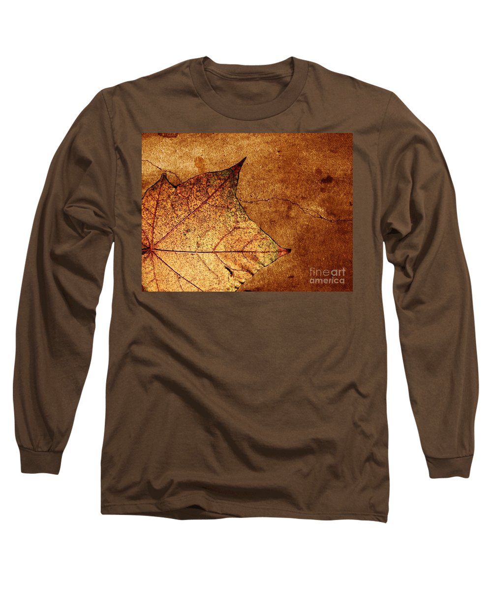 Autumn Long Sleeve T-Shirt featuring the photograph Today Everything Changes by Dana DiPasquale