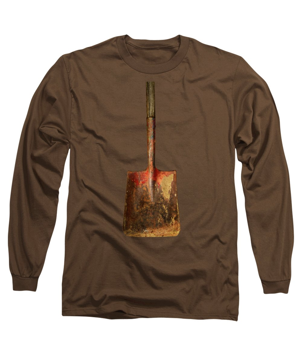 Antique Long Sleeve T-Shirt featuring the photograph Tools On Wood 2 by YoPedro