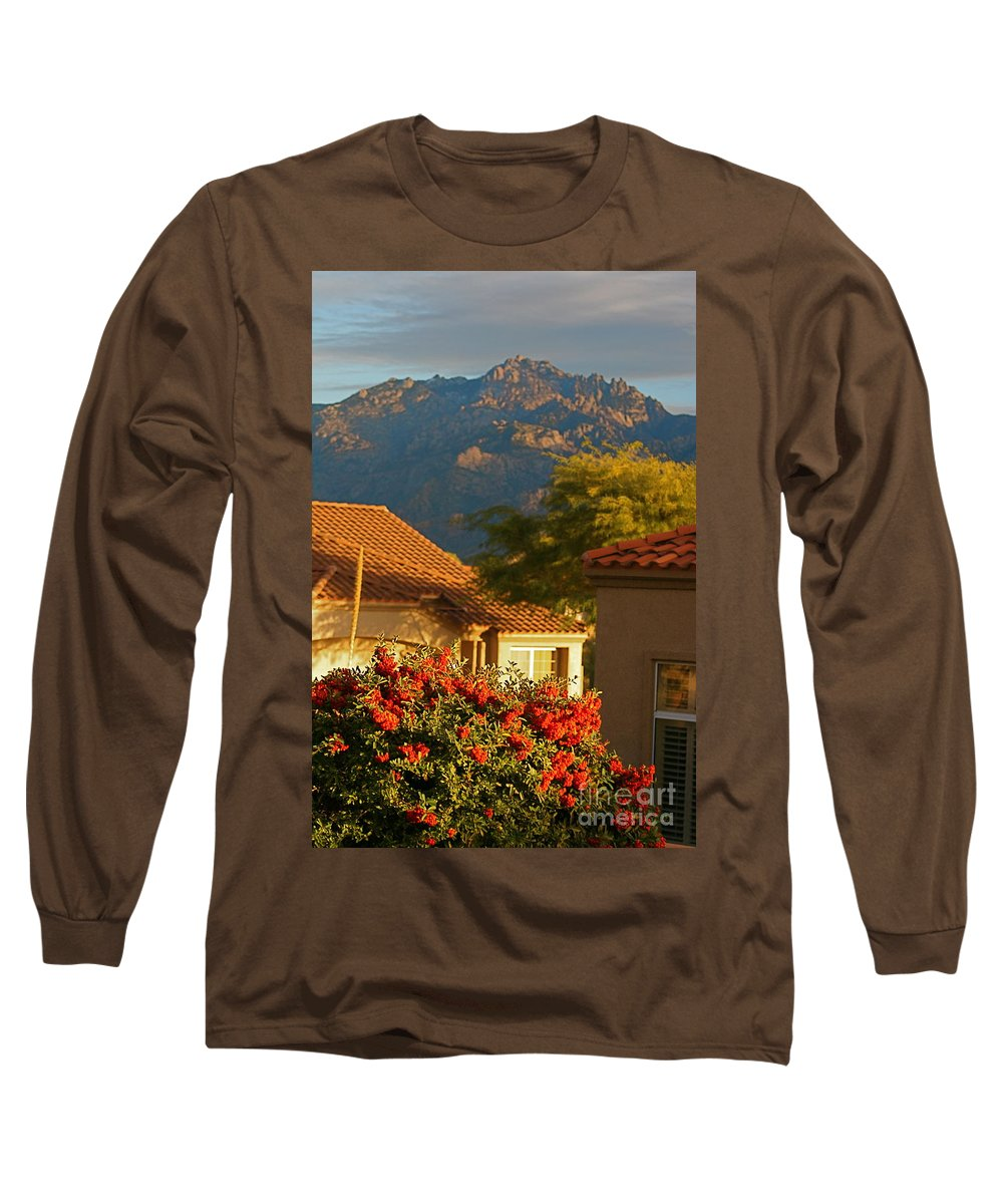 Mountains Long Sleeve T-Shirt featuring the photograph Tucson Beauty by Nadine Rippelmeyer