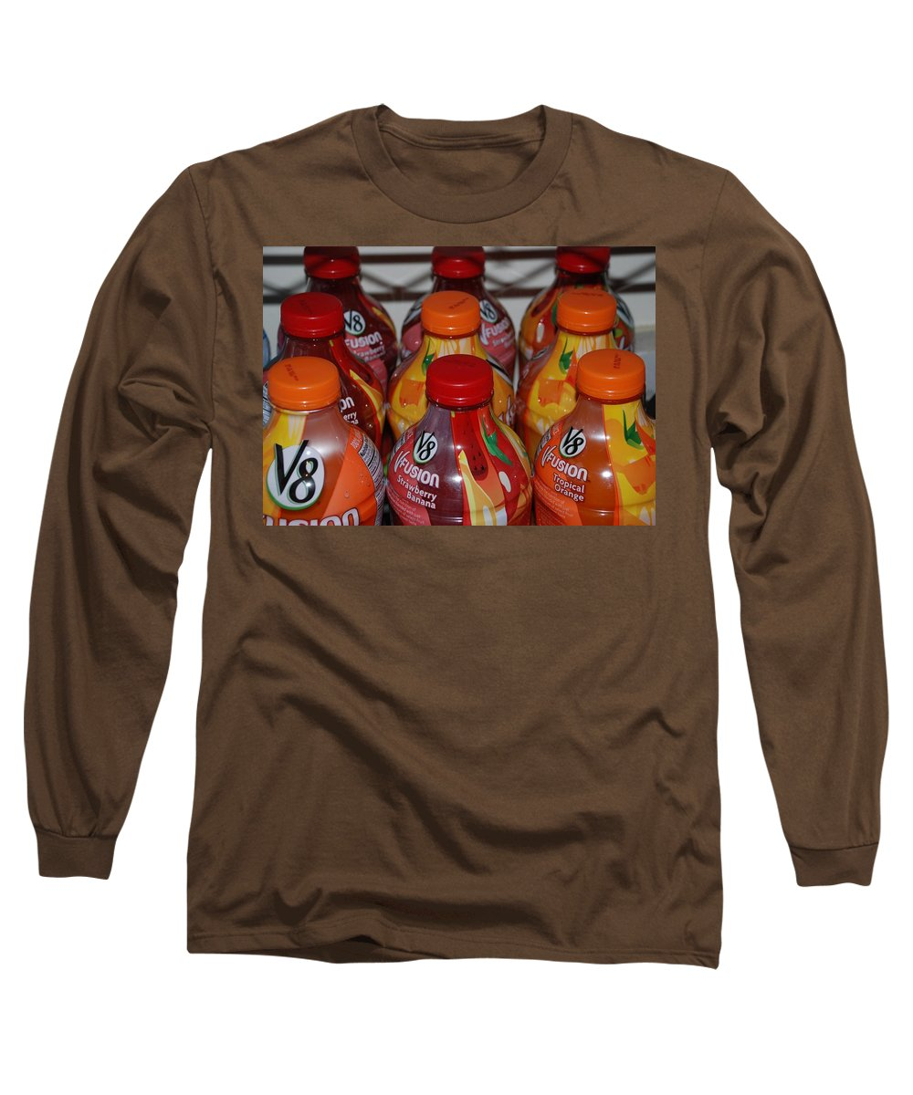 V8 Long Sleeve T-Shirt featuring the photograph V8 Fusion by Rob Hans