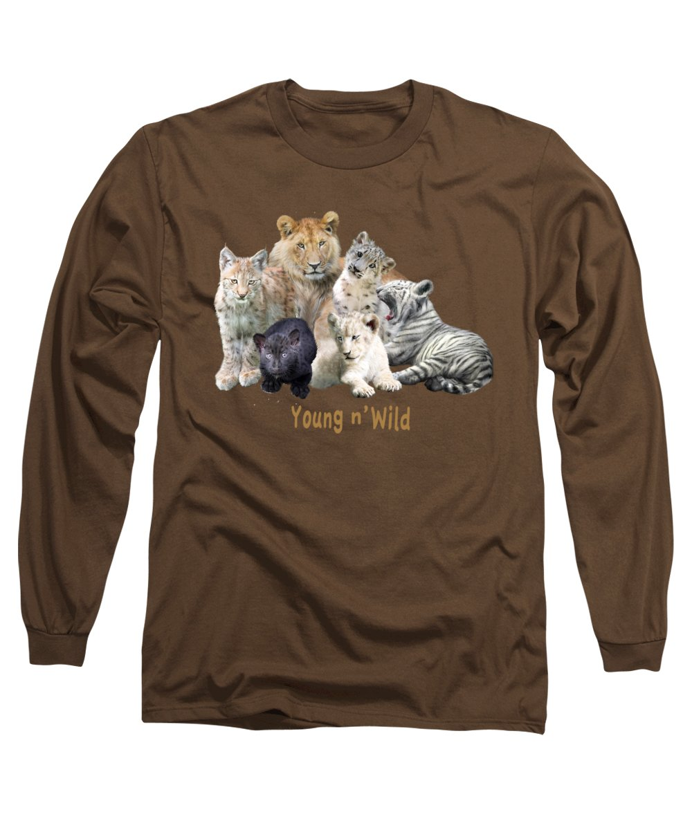 Panther Long Sleeve T-Shirts