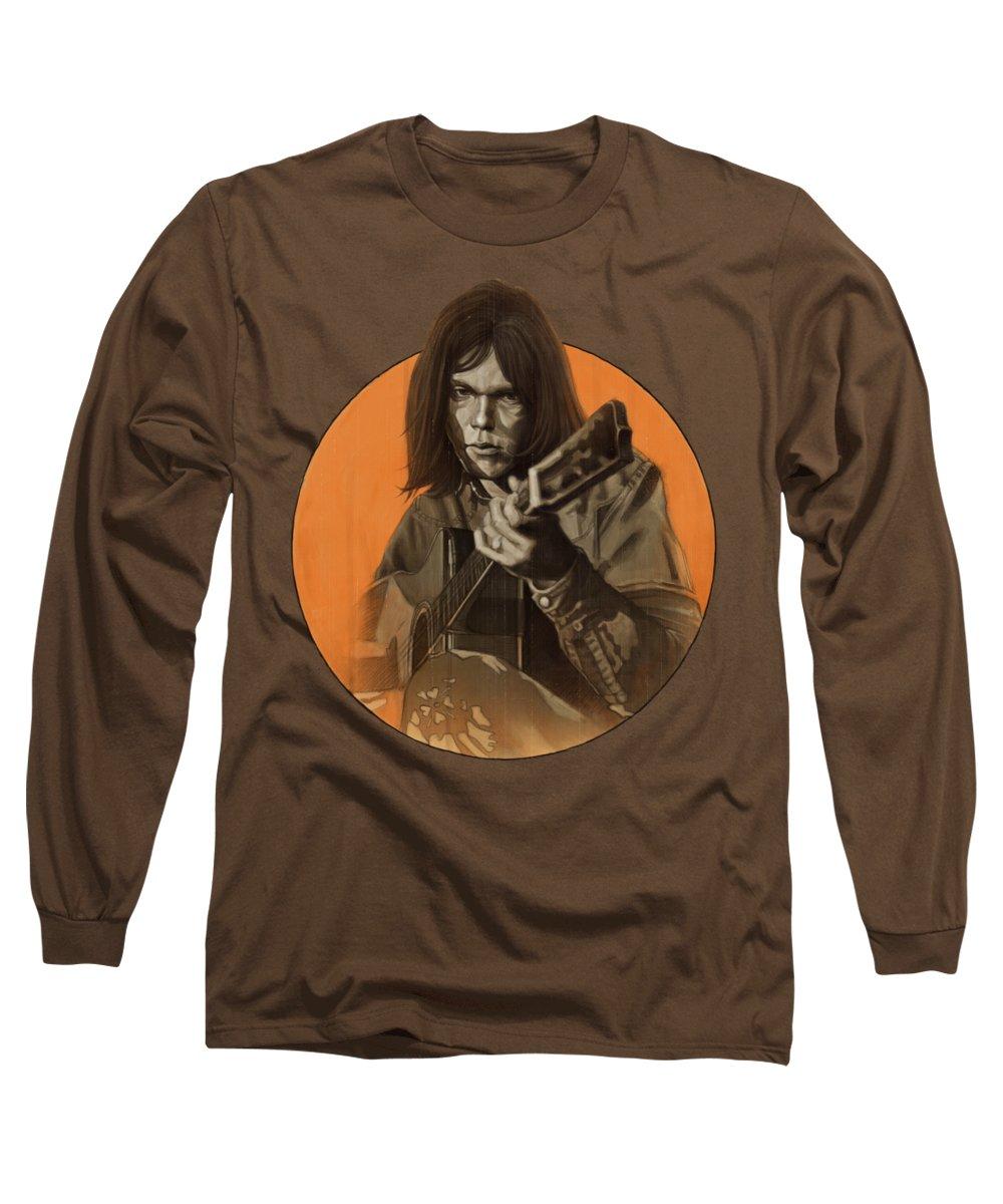 Harvest Moon Long Sleeve T-Shirts