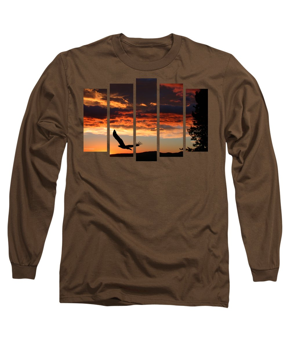 Set 18 Long Sleeve T-Shirt featuring the photograph Set 18 by Shane Bechler