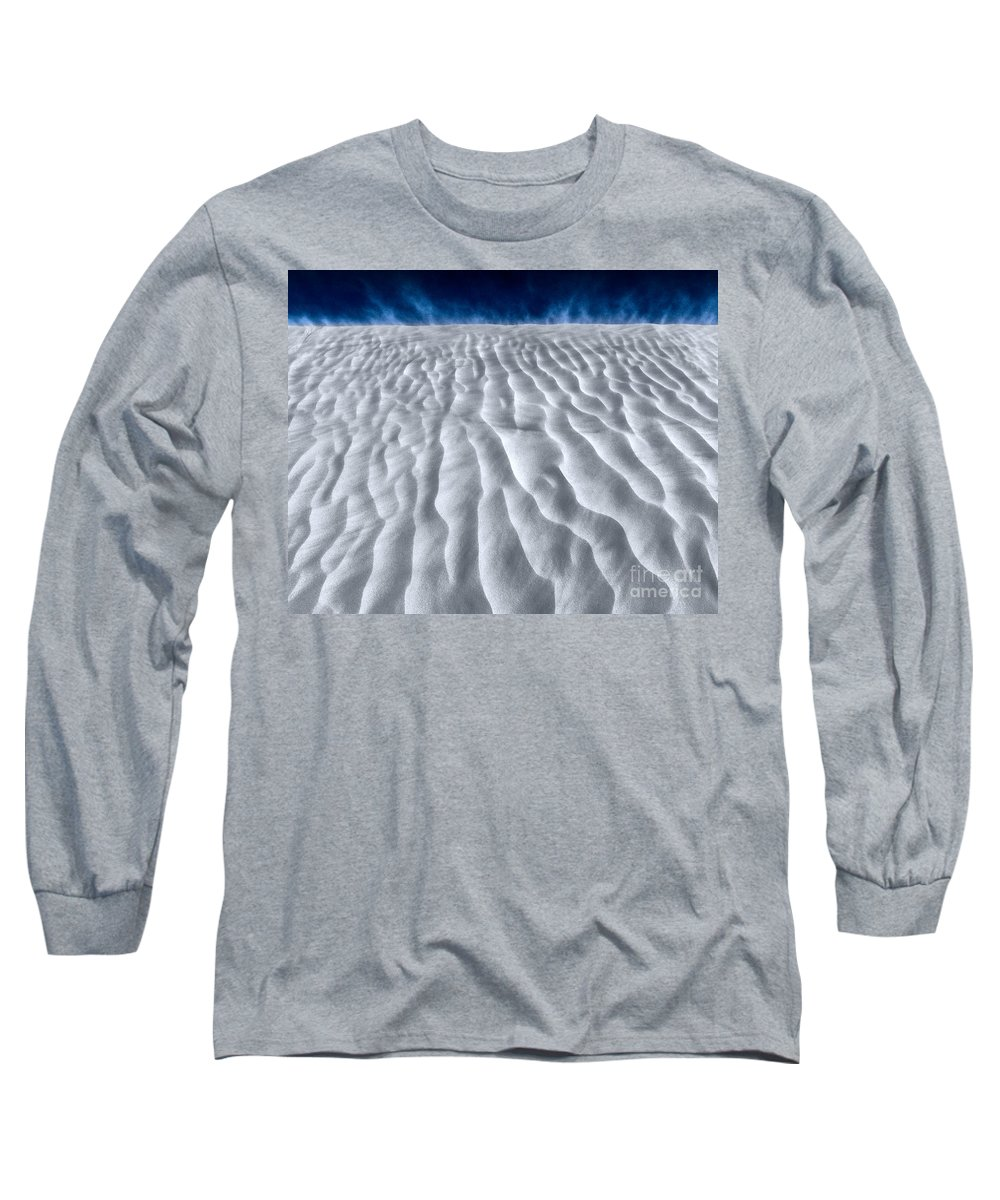 White Sand Long Sleeve T-Shirt featuring the photograph White Sands by Julian Cook