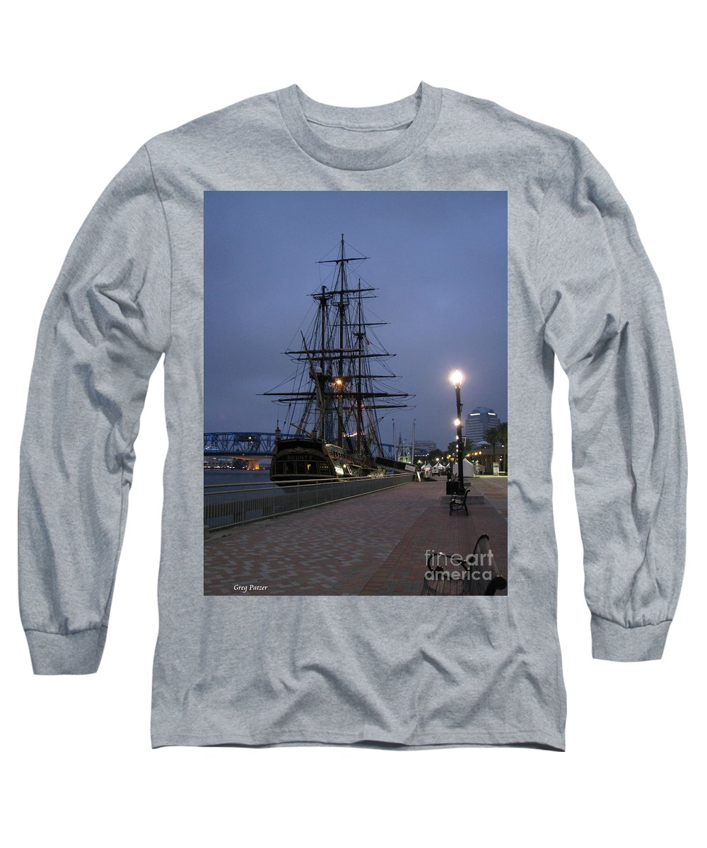 Patzer Long Sleeve T-Shirt featuring the photograph Bounty by Greg Patzer