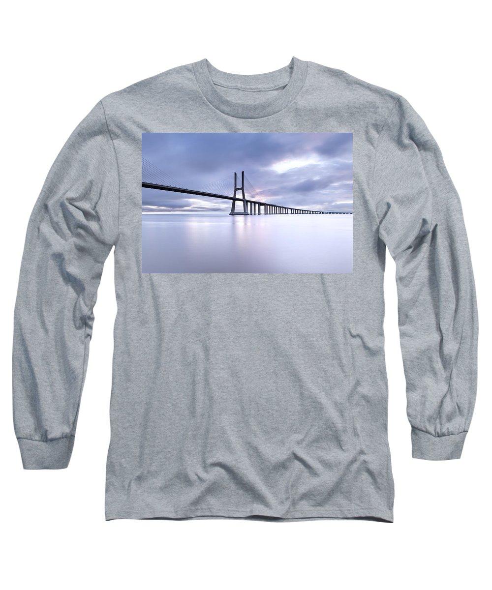Vasco Da Gama Bridge Long Sleeve T-Shirts