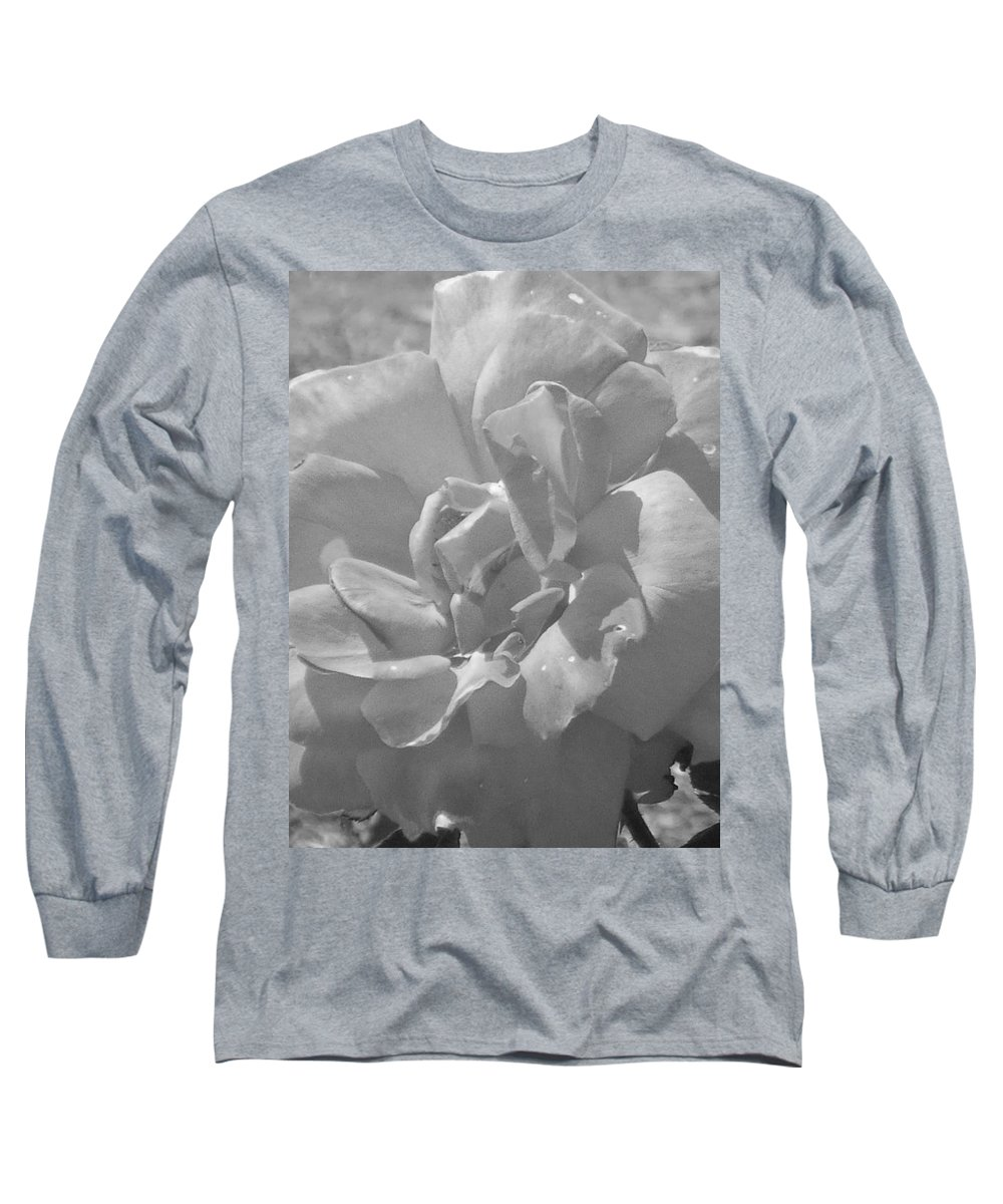 Rose Long Sleeve T-Shirt featuring the photograph Dew Rose by Pharris Art