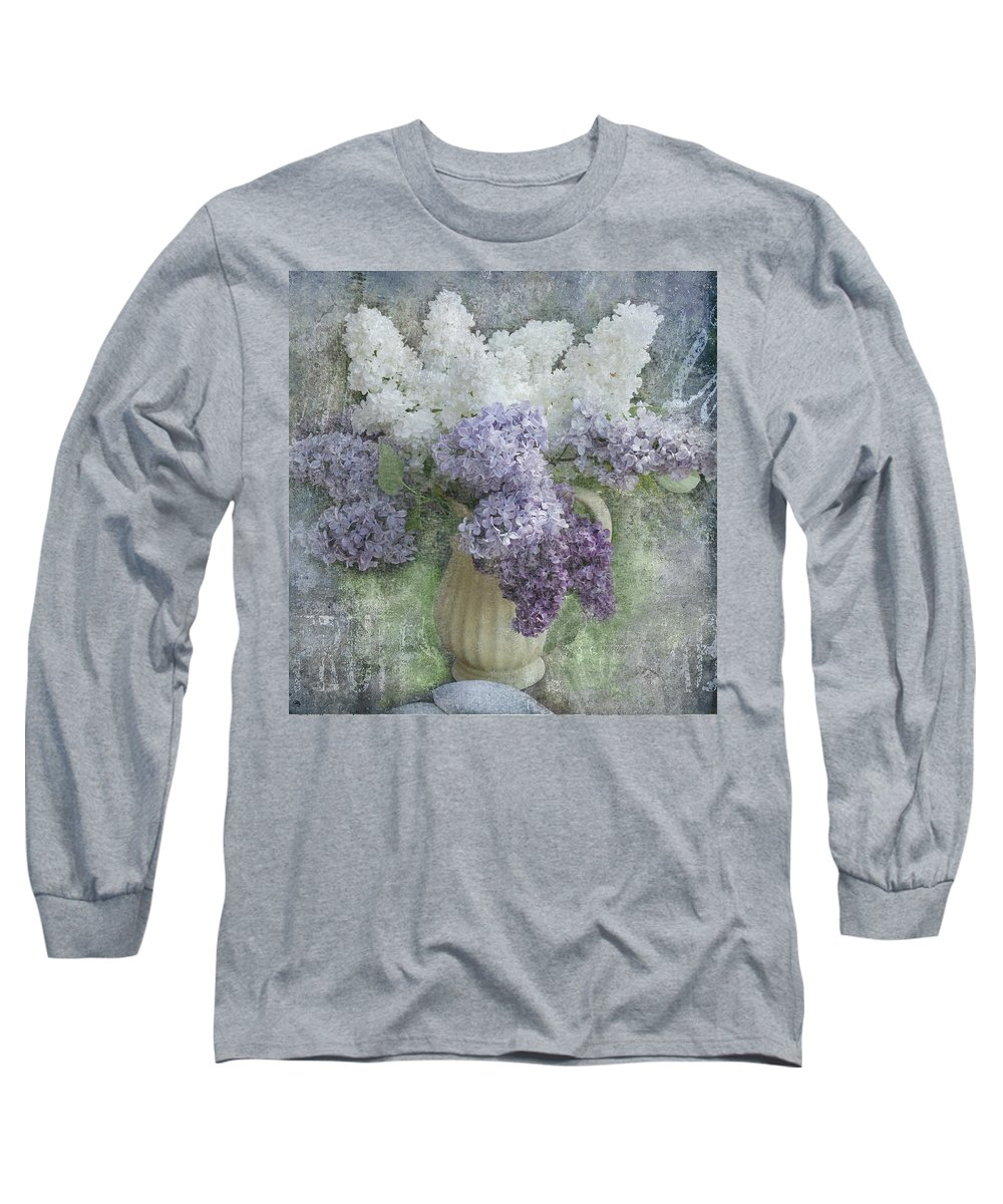 Lilacs Long Sleeve T-Shirt featuring the photograph Lilac by Jeff Burgess