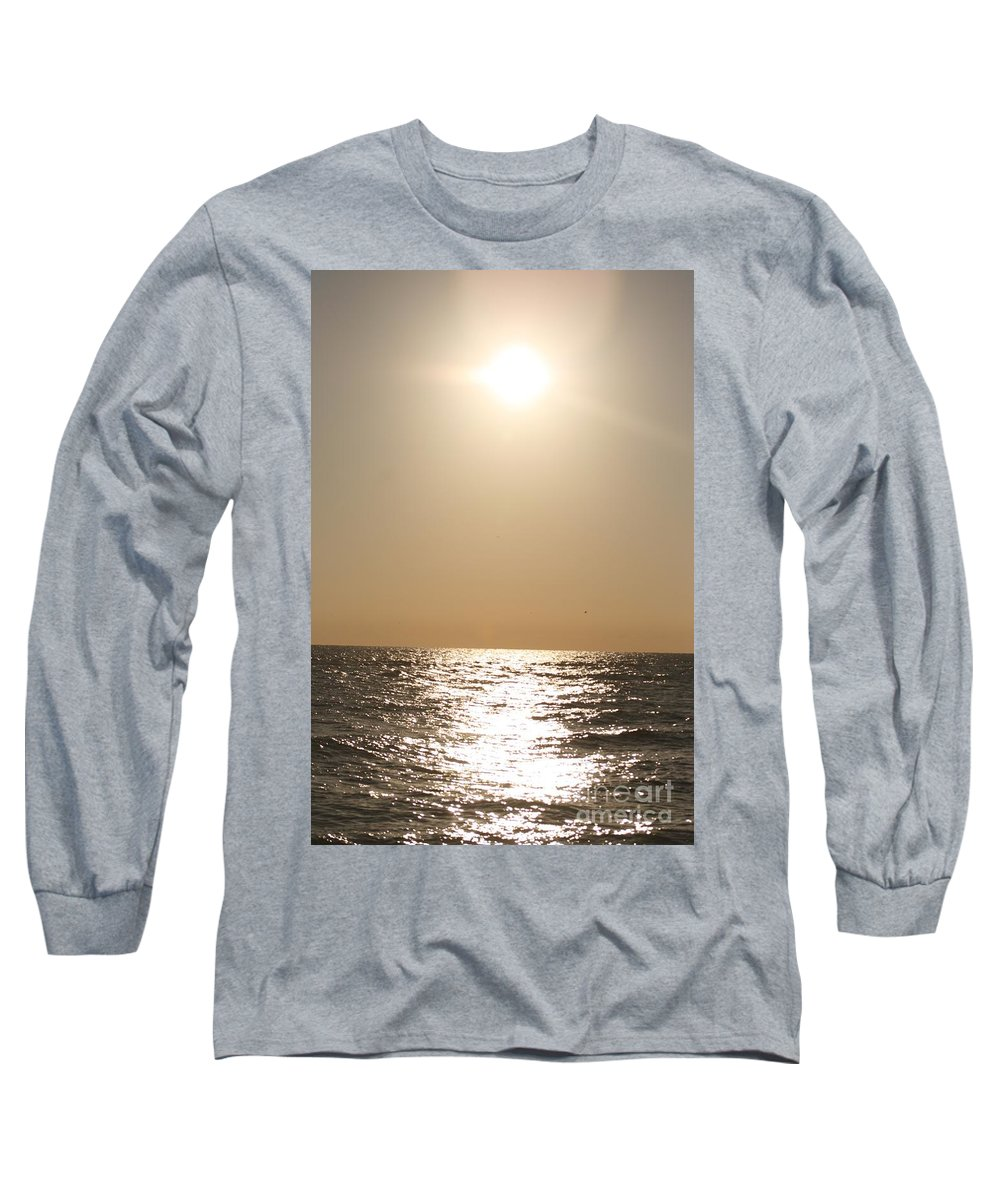 Silver Long Sleeve T-Shirt featuring the photograph Silver And Gold by Nadine Rippelmeyer