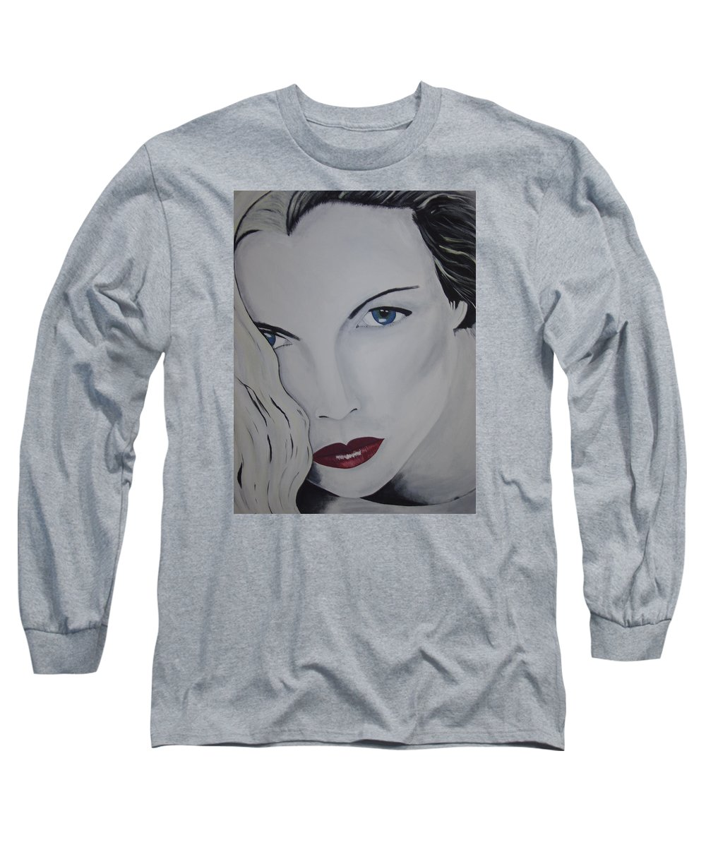 Beauty Long Sleeve T-Shirt featuring the painting The Natural by Dean Stephens