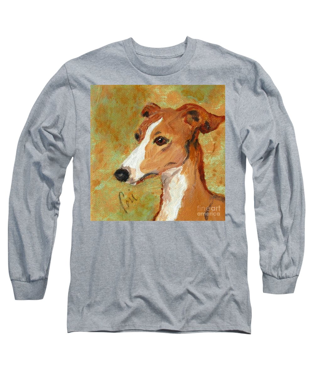 Acrylic Long Sleeve T-Shirt featuring the painting Treasured Moments by Cori Solomon