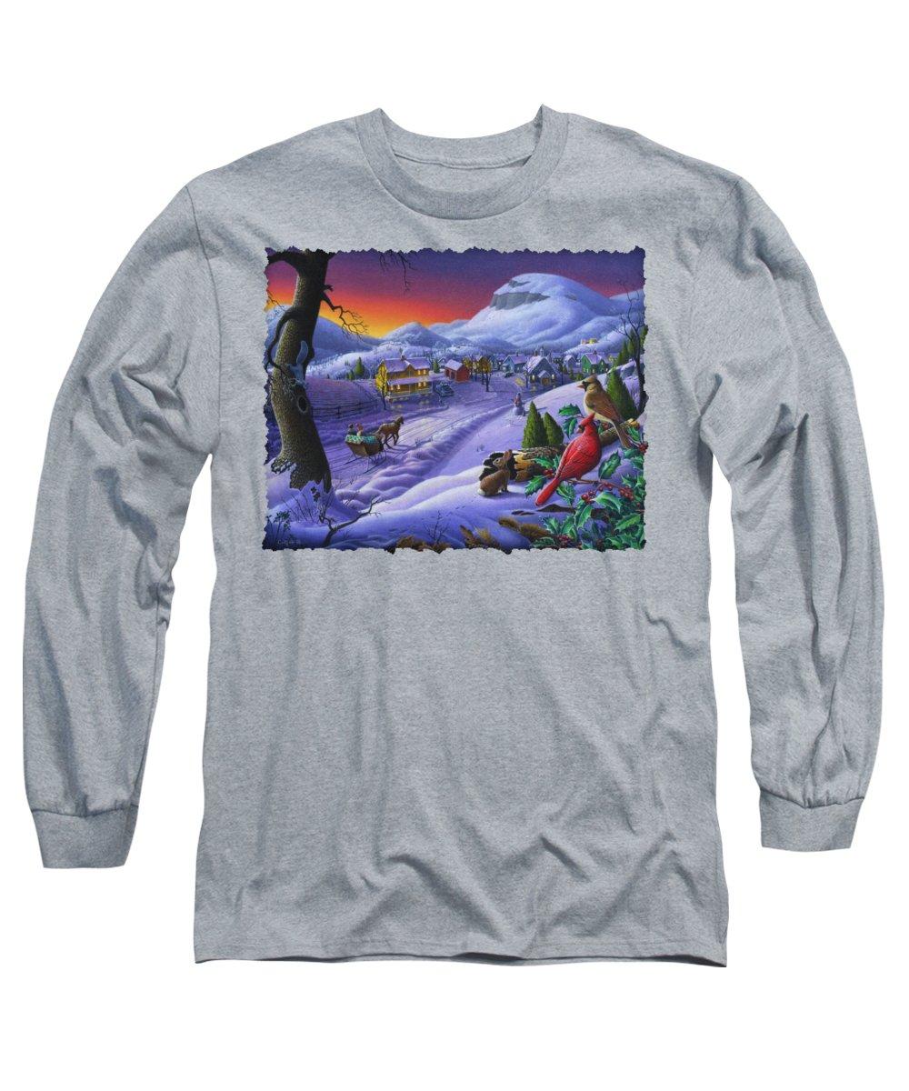 Cardinal Long Sleeve T-Shirts
