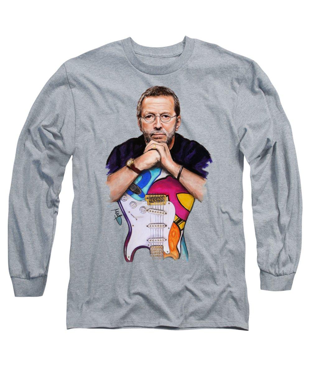 Eric Clapton Cream Long Sleeve T-Shirts