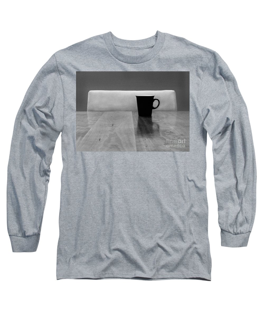 Black Long Sleeve T-Shirt featuring the photograph Missing by Dana DiPasquale