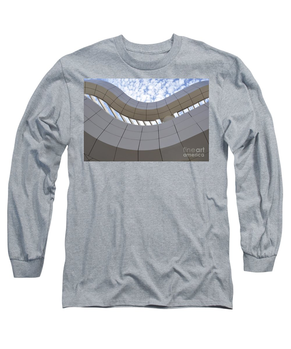 Clay Long Sleeve T-Shirt featuring the photograph The Getty by Clayton Bruster