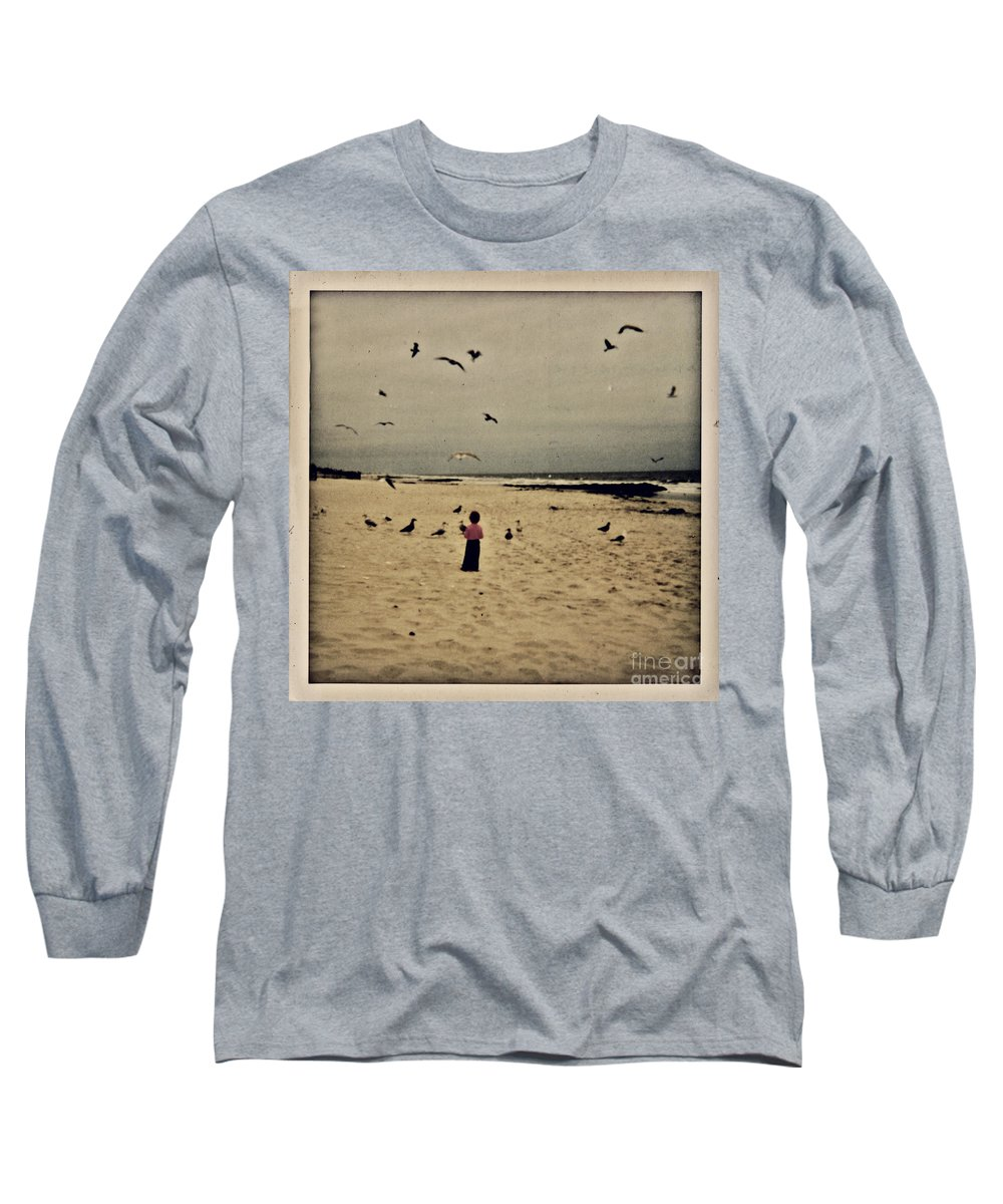 Ocean Long Sleeve T-Shirt featuring the photograph When Promises Were For Keeps by Dana DiPasquale