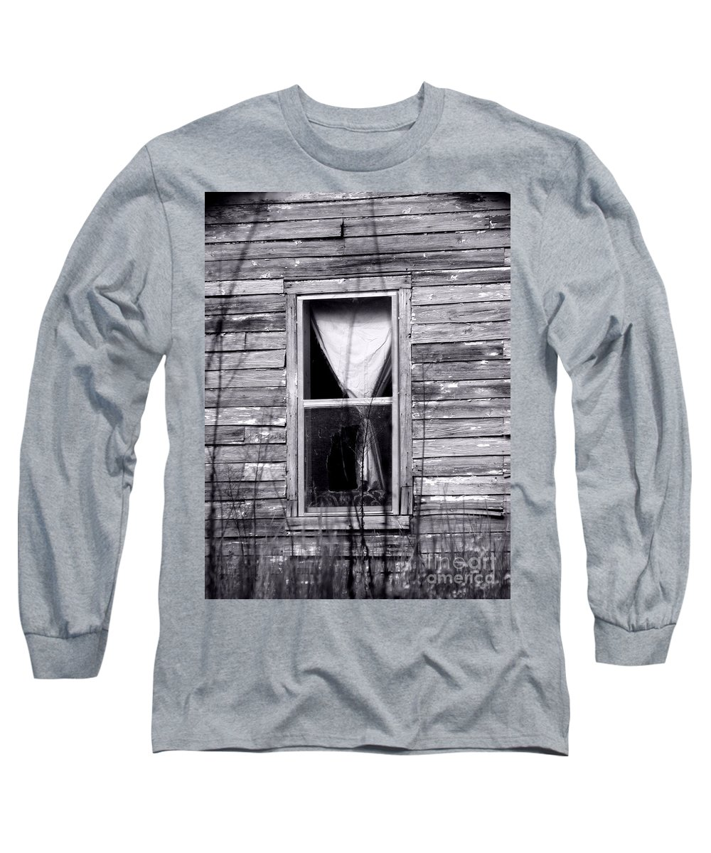 Windows Long Sleeve T-Shirt featuring the photograph Window by Amanda Barcon