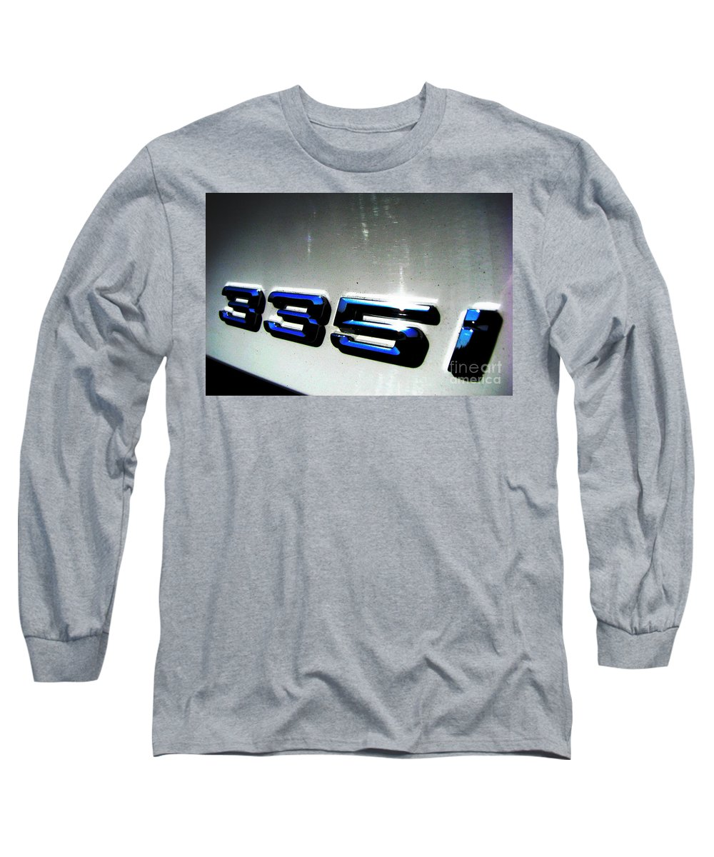 335i Long Sleeve T-Shirt featuring the photograph 335i by Amanda Barcon