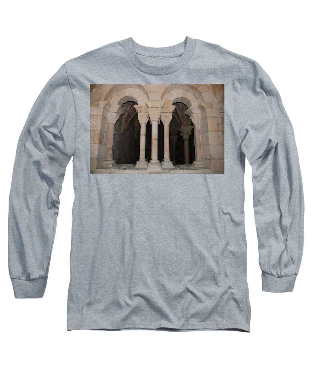 Arches Long Sleeve T-Shirt featuring the photograph Miami Monastery by Rob Hans