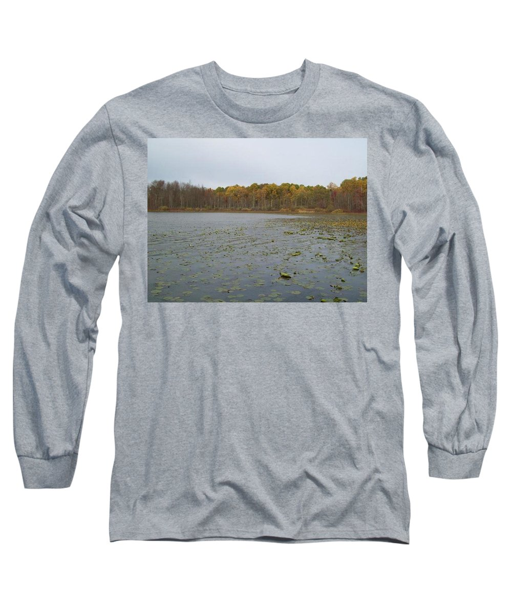 Tmad Long Sleeve T-Shirt featuring the photograph A Step Back Into Time by Michael TMAD Finney