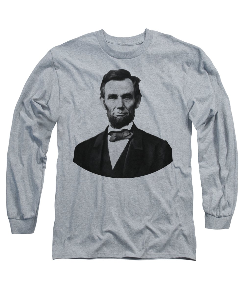 Abe Lincoln Long Sleeve T-Shirts