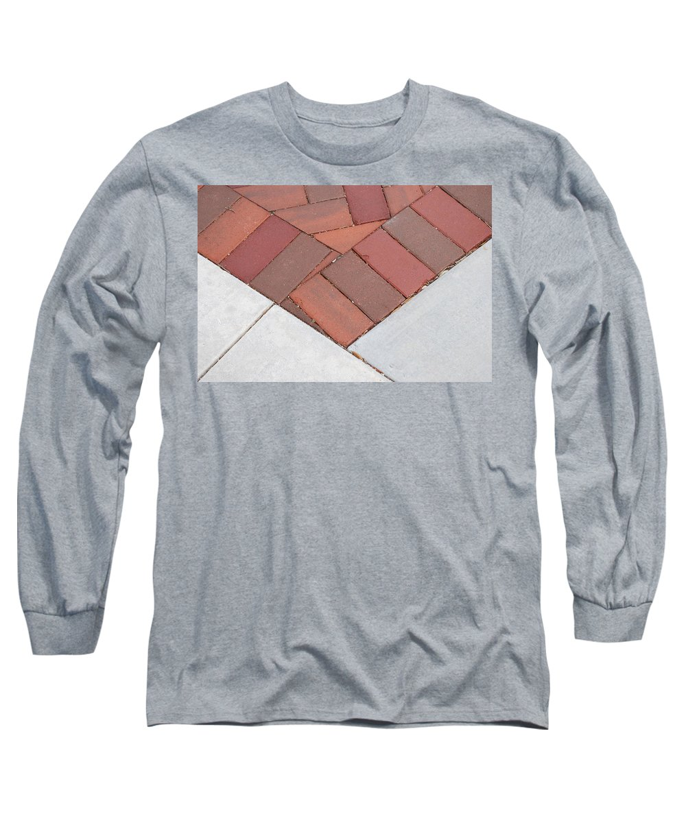 Bricks Long Sleeve T-Shirt featuring the photograph Angles by Rob Hans