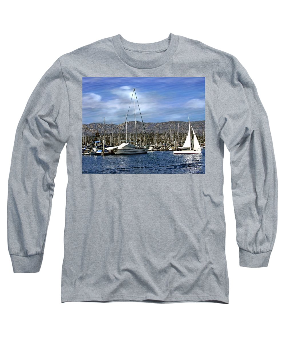 Ocean Long Sleeve T-Shirt featuring the photograph Another Sunny Day by Kurt Van Wagner