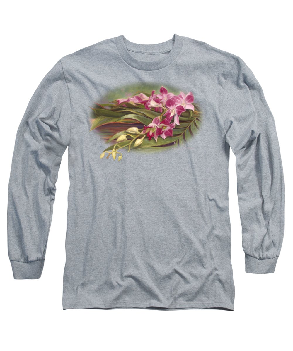 Orchid Long Sleeve T-Shirts