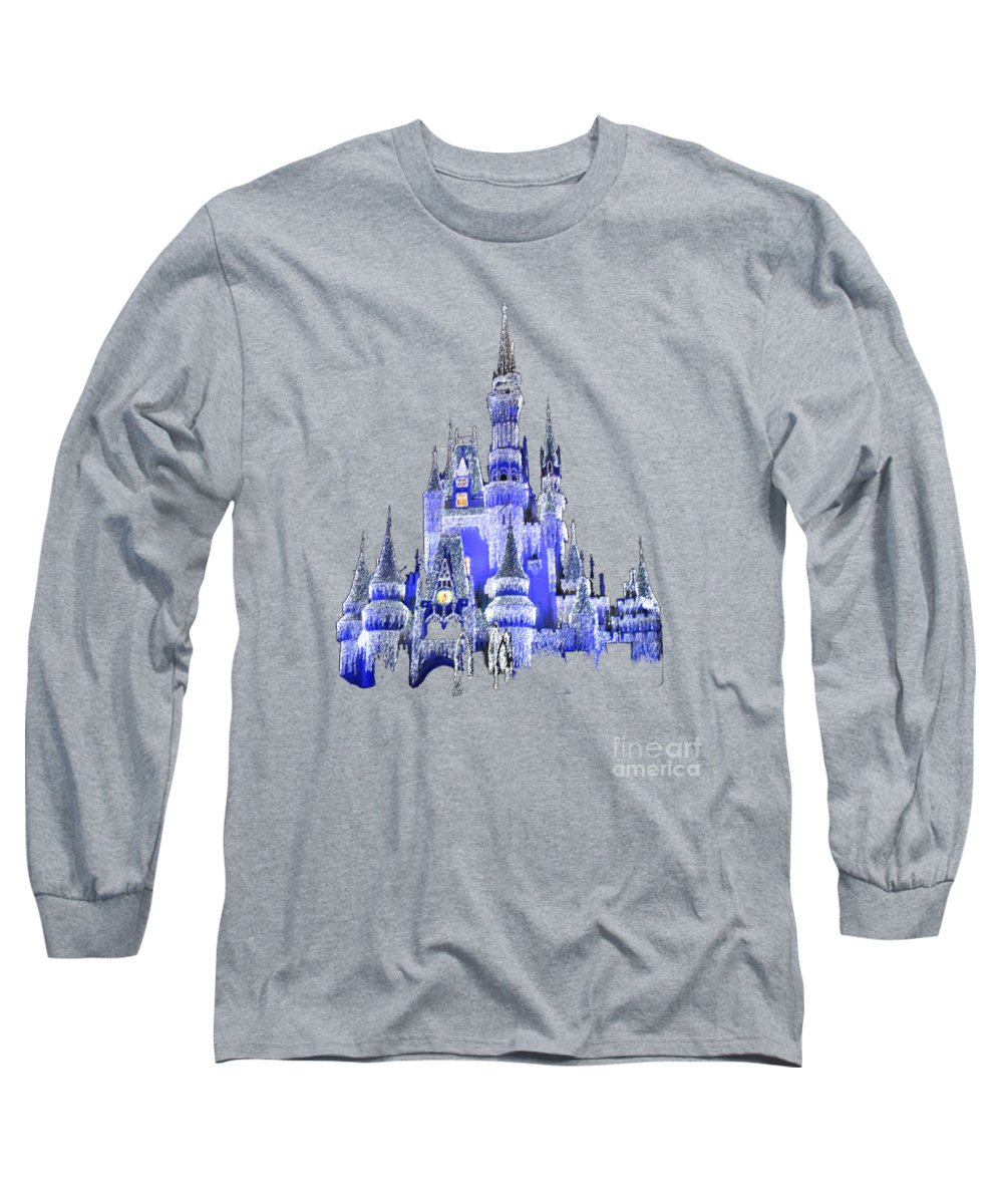 Royal Blue Long Sleeve T-Shirts
