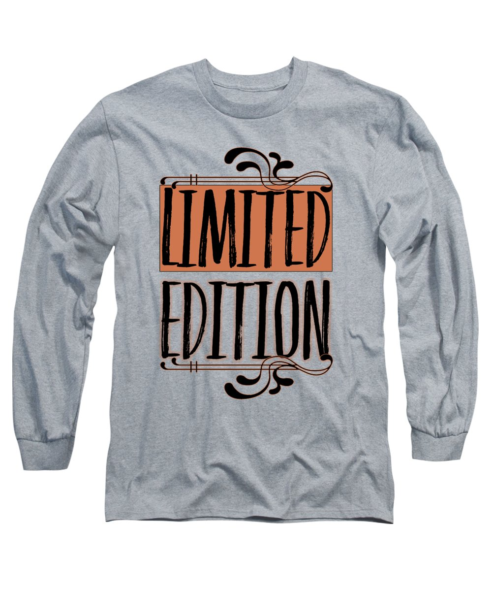 Abstract Long Sleeve T-Shirt featuring the digital art Limited Edition by Melanie Viola