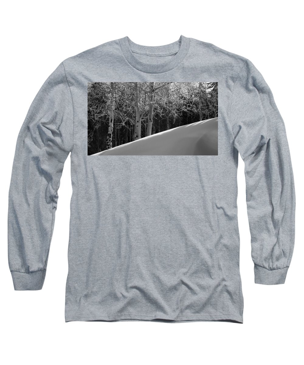 Colorado Long Sleeve T-Shirt featuring the photograph Aspencade by Skip Hunt