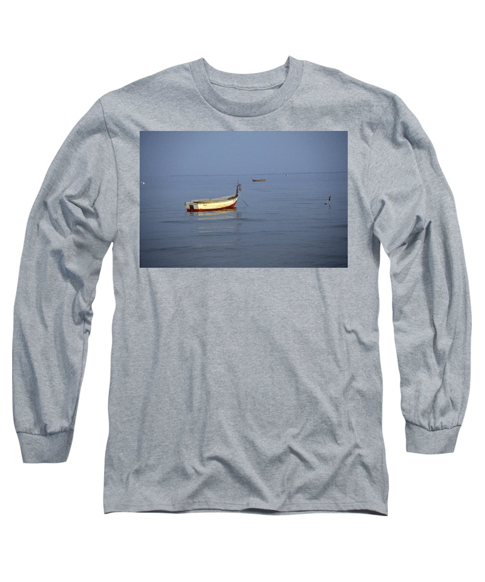 Baltic Sea Long Sleeve T-Shirt featuring the photograph Baltic Sea by Flavia Westerwelle