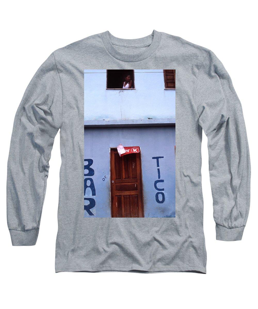 Lencois Long Sleeve T-Shirt featuring the photograph Bar Tico by Patrick Klauss
