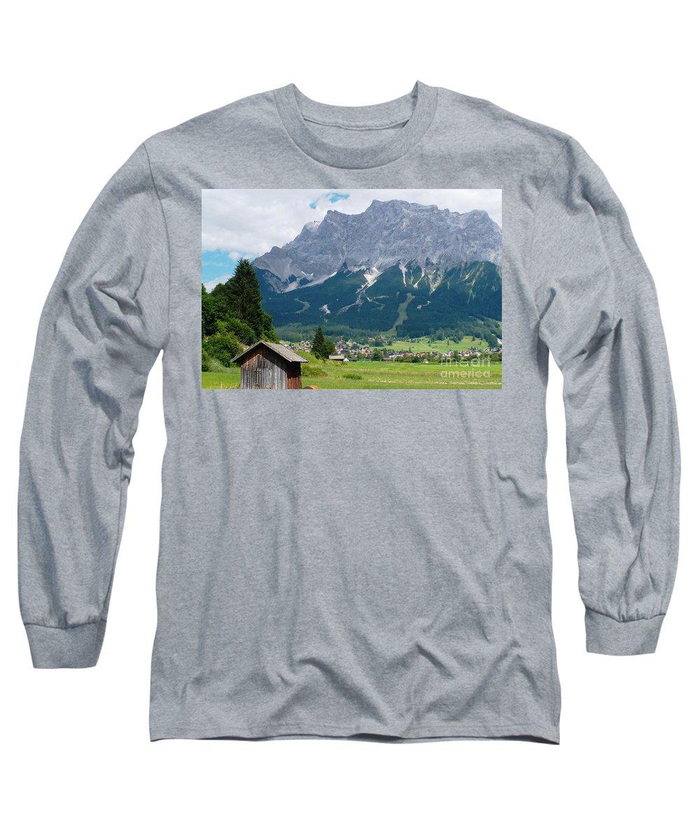 Landscape Long Sleeve T-Shirt featuring the photograph Bavarian Alps Landscape by Carol Groenen