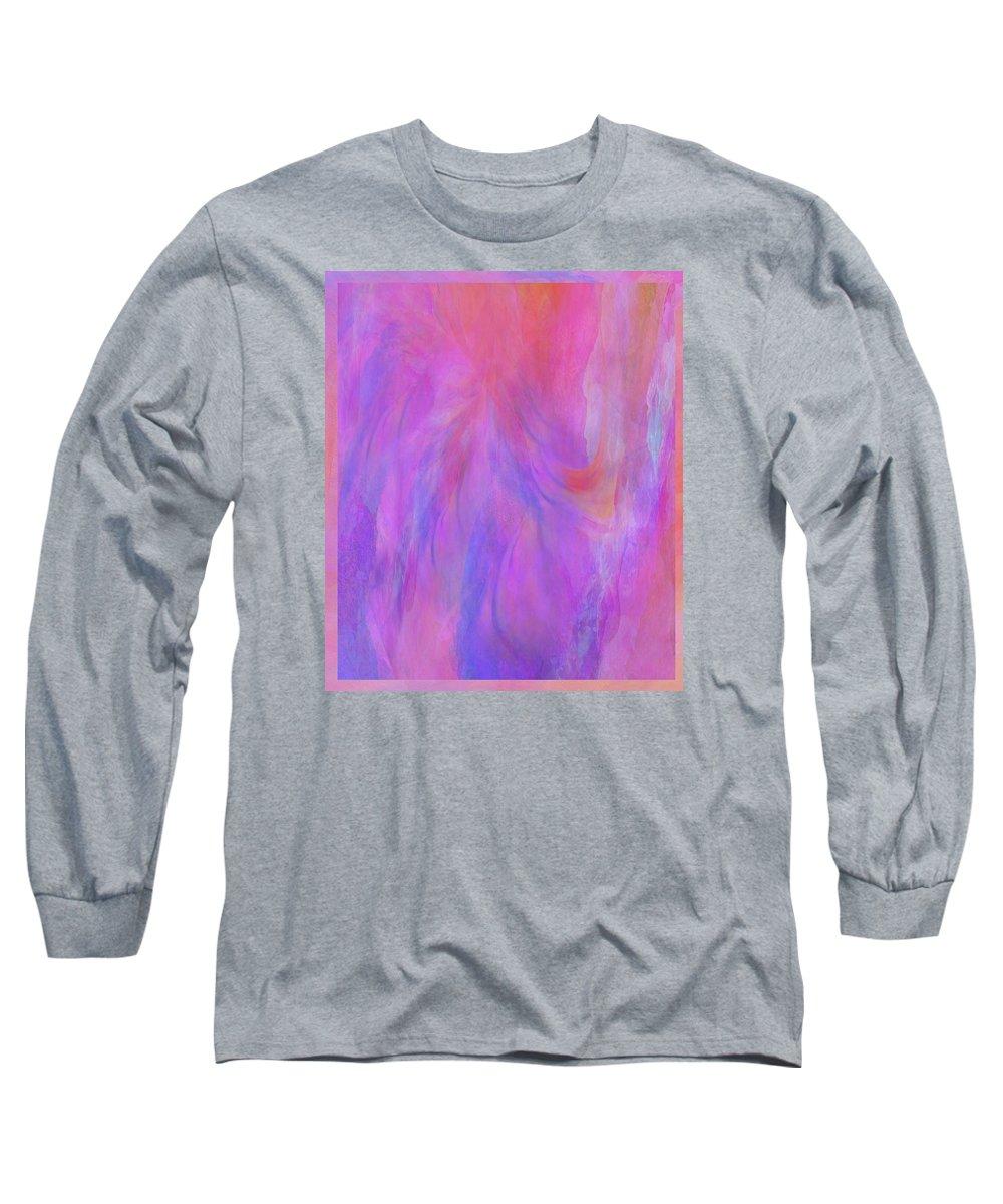 Digital Art Long Sleeve T-Shirt featuring the digital art Blossom by Linda Murphy