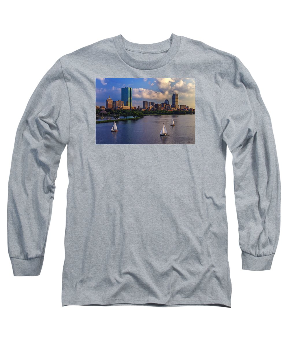 Hancock Building Long Sleeve T-Shirts