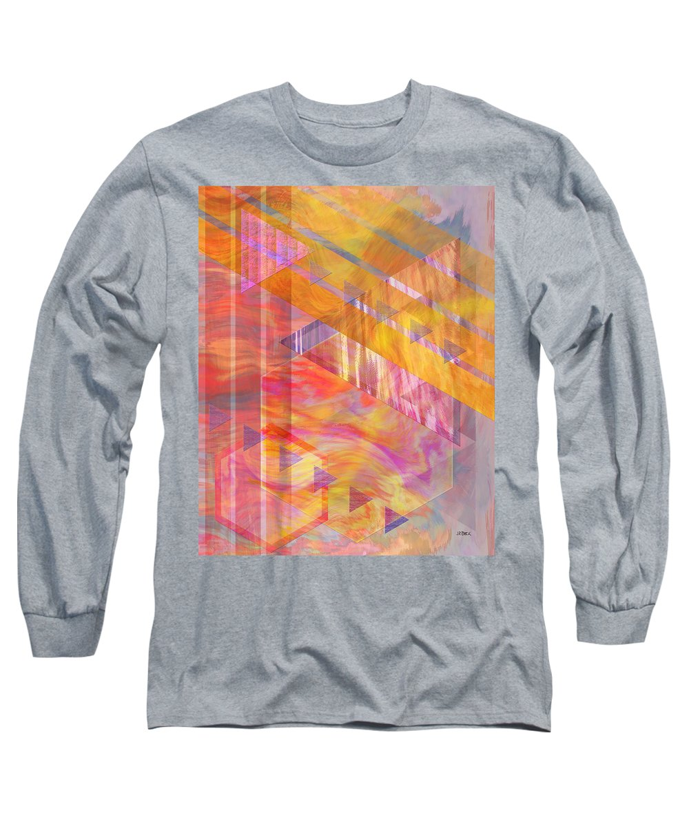 Affordable Art Long Sleeve T-Shirt featuring the digital art Bright Dawn by John Beck
