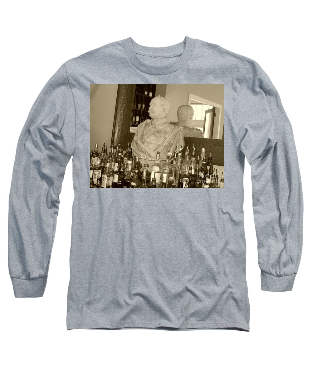 Bust Long Sleeve T-Shirt featuring the photograph Chipped Reflection by Debbi Granruth