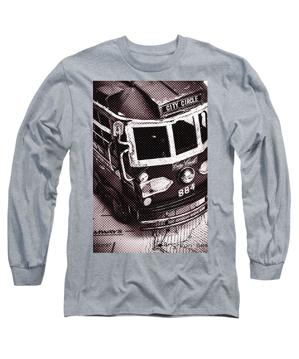City Long Sleeve T-Shirt featuring the photograph City Wall Art Tours by Jorgo Photography - Wall Art Gallery
